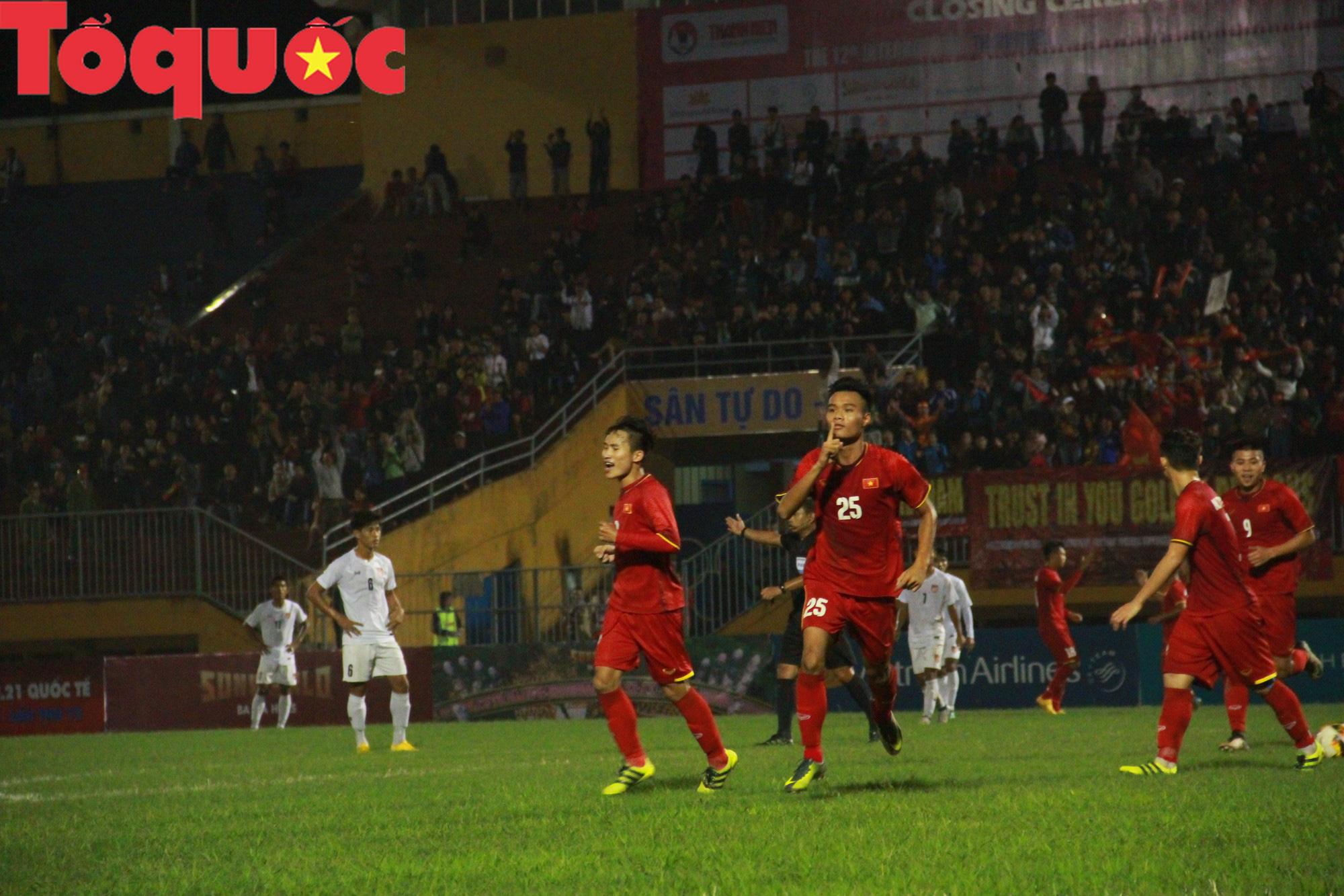 Bộ trưởng Nguyễn Ngọc Thiện dự khán trận chung kết U21 quốc tế - Ảnh 8.