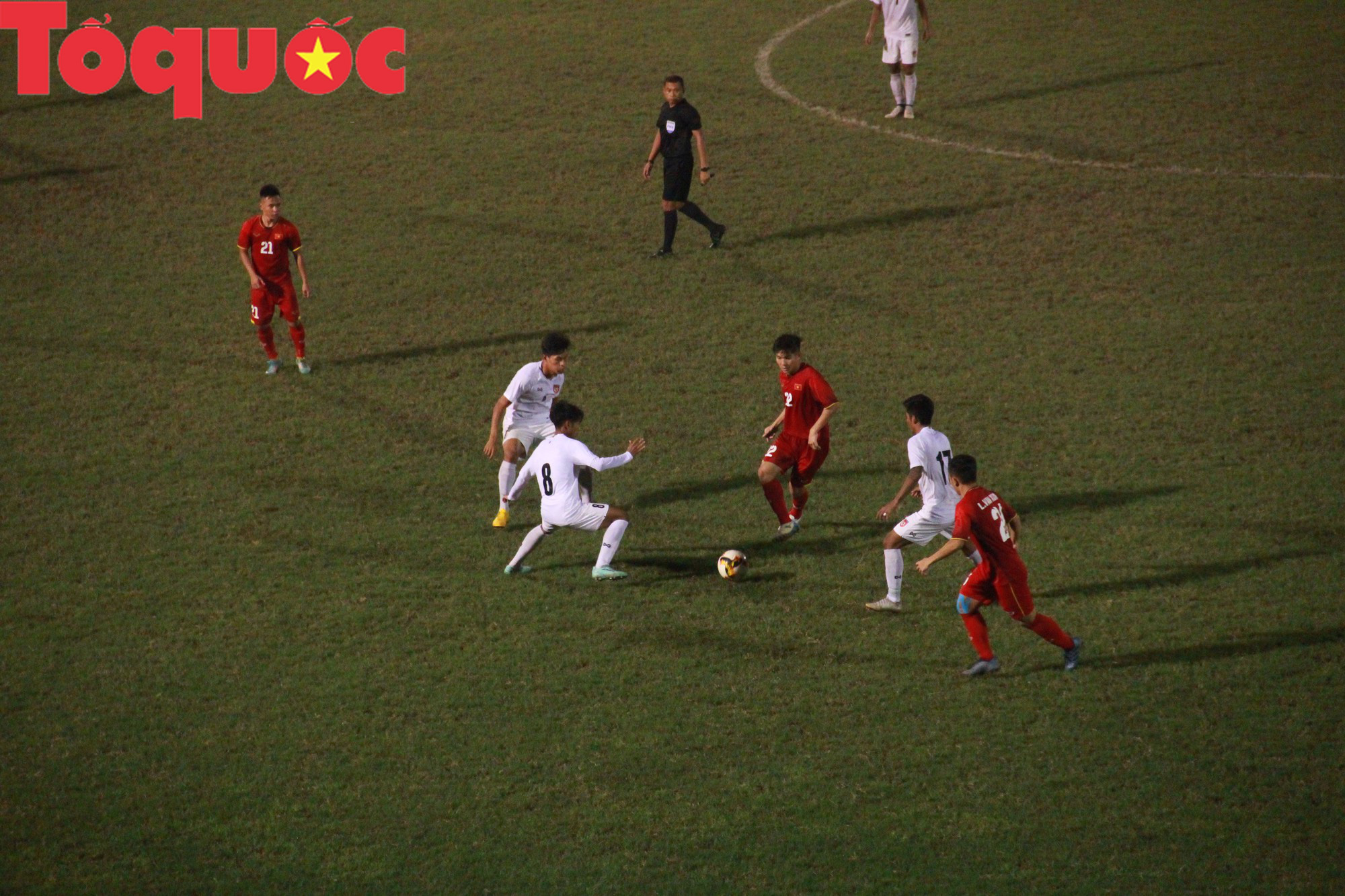 Bộ trưởng Nguyễn Ngọc Thiện dự khán trận chung kết U21 quốc tế - Ảnh 3.