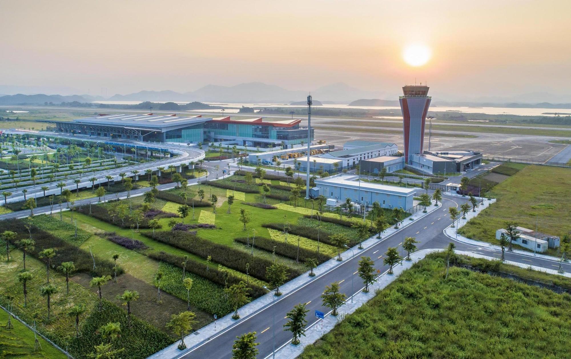 Cảng HKQT Vân Đồn được WTA bình chọn là sân bay mới hàng đầu châu Á