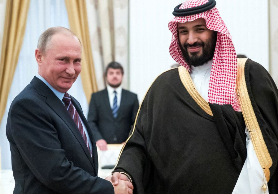 Putin tham Saudi Arabia