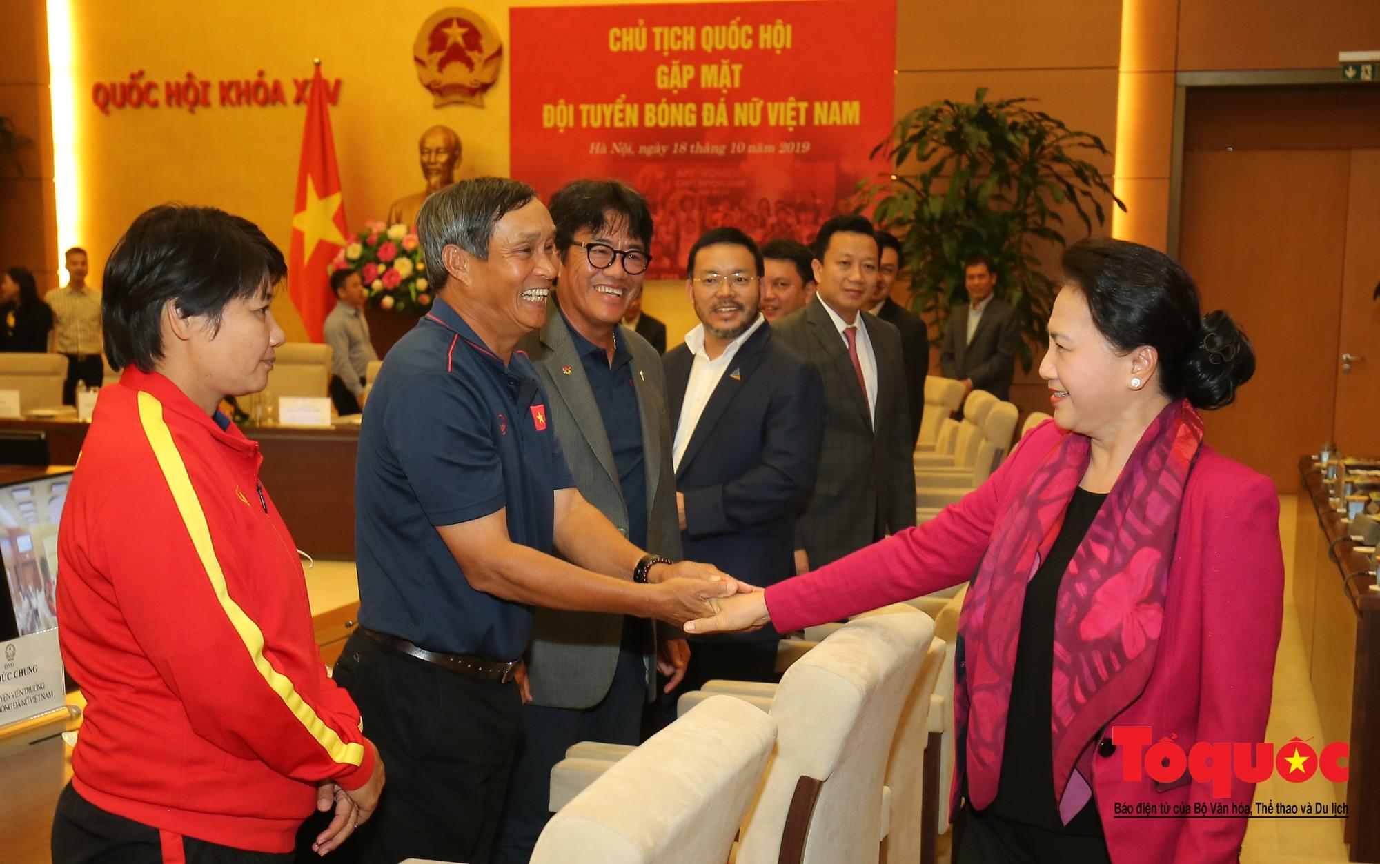 Chủ tịch Quốc hội Nguyễn Thị Kim Ngân: Bóng đá nam nhìn thành tích bóng đá nữ còn phải mơ ước dài1
