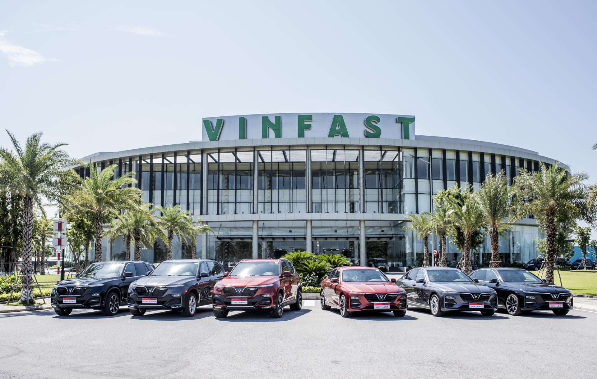 Nha may VinFast
