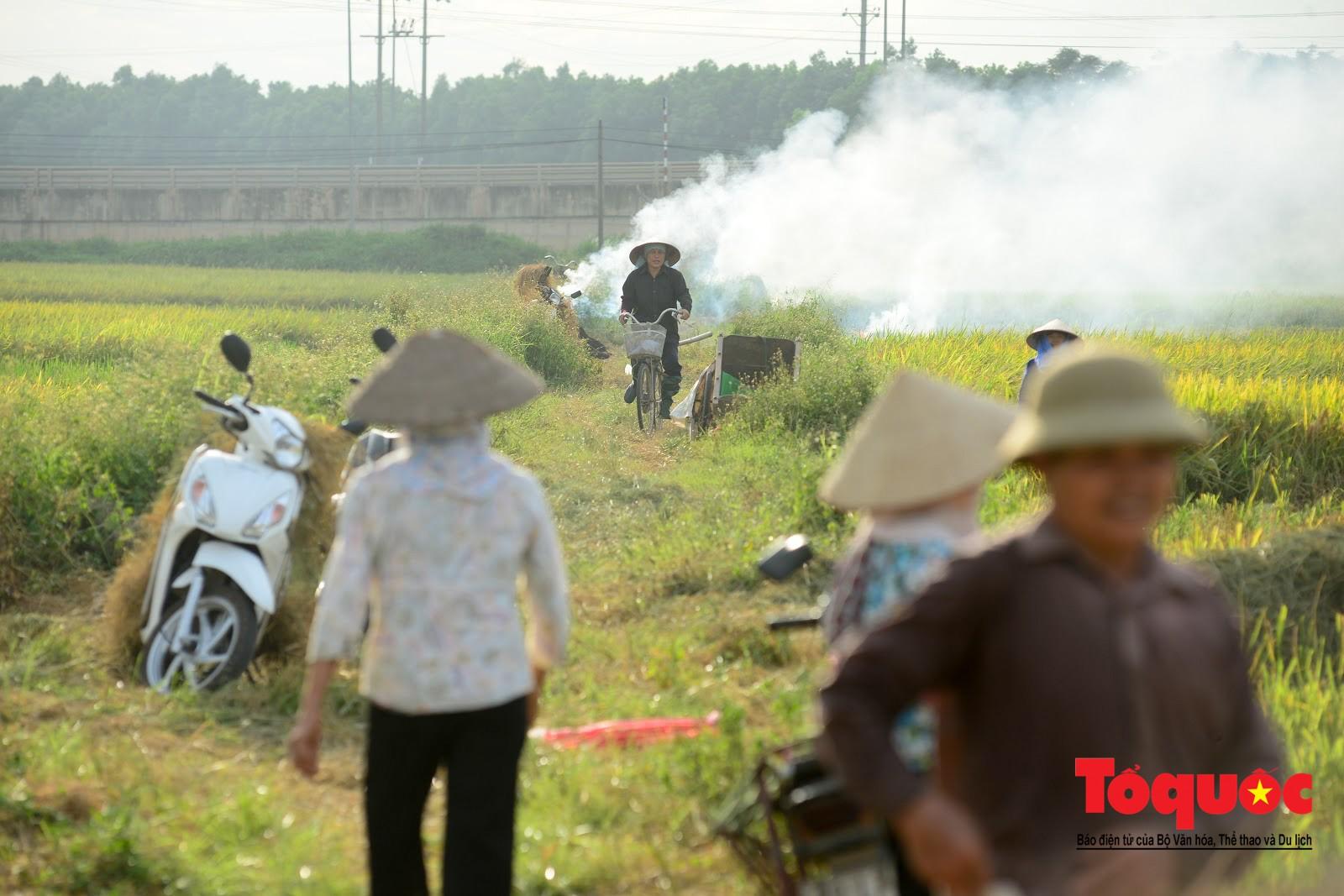 Nông dân ngoại thành vô tình khiến nội thành Hà Nội có một lớp sương mờ1
