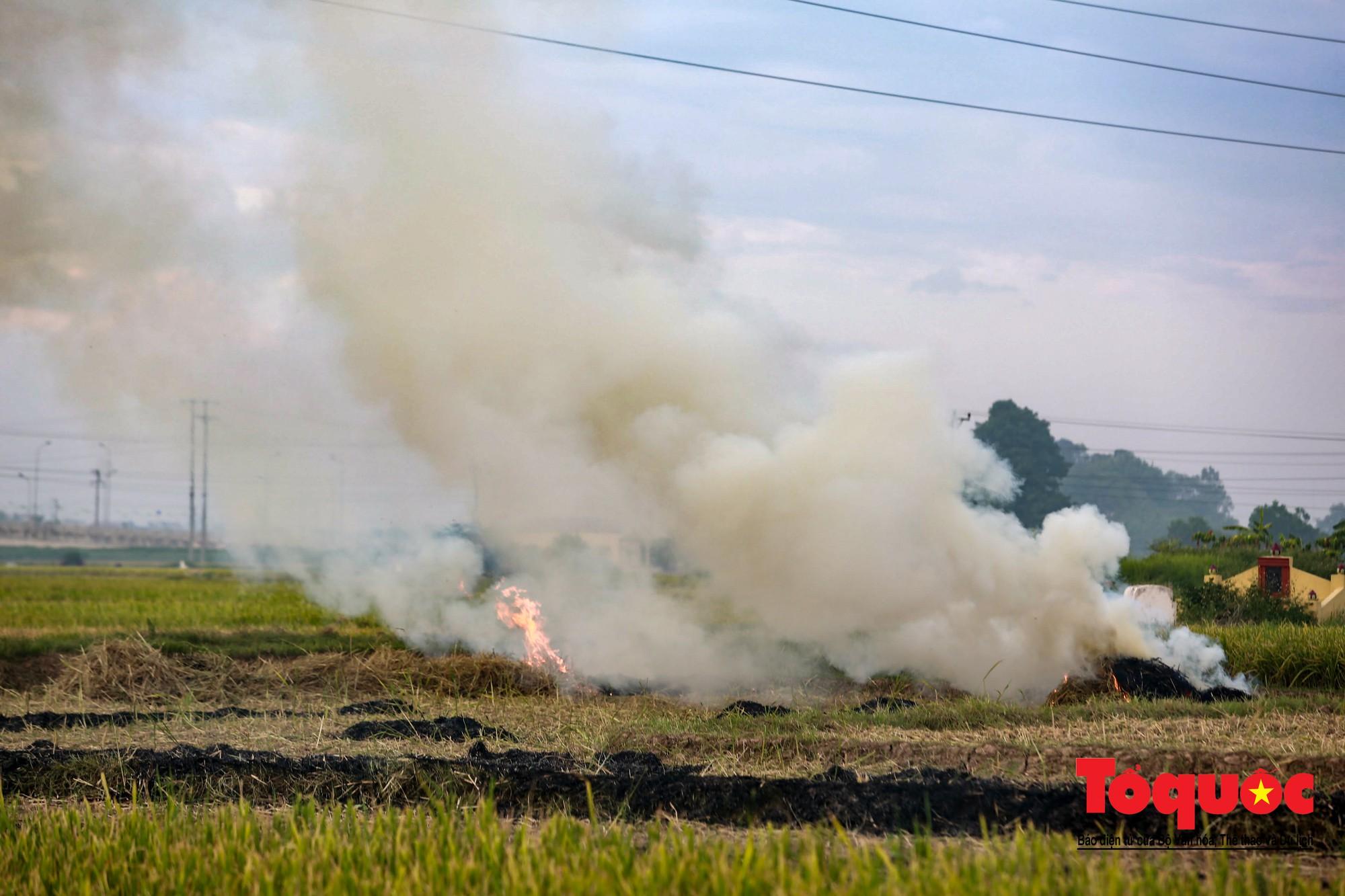 Nông dân ngoại thành vô tình khiến nội thành Hà Nội có một lớp sương mờ13
