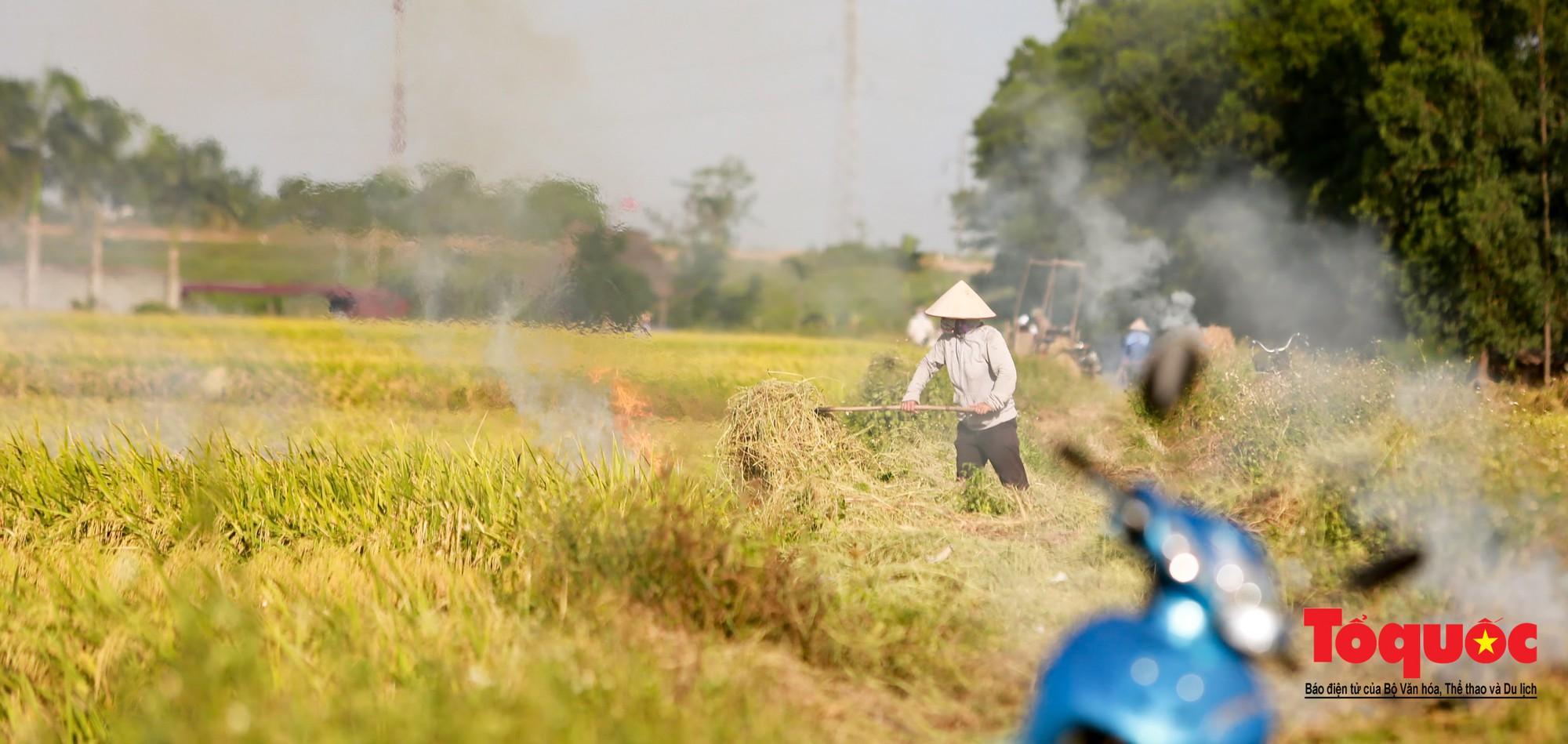 Nông dân ngoại thành vô tình khiến nội thành Hà Nội có một lớp sương mờ9