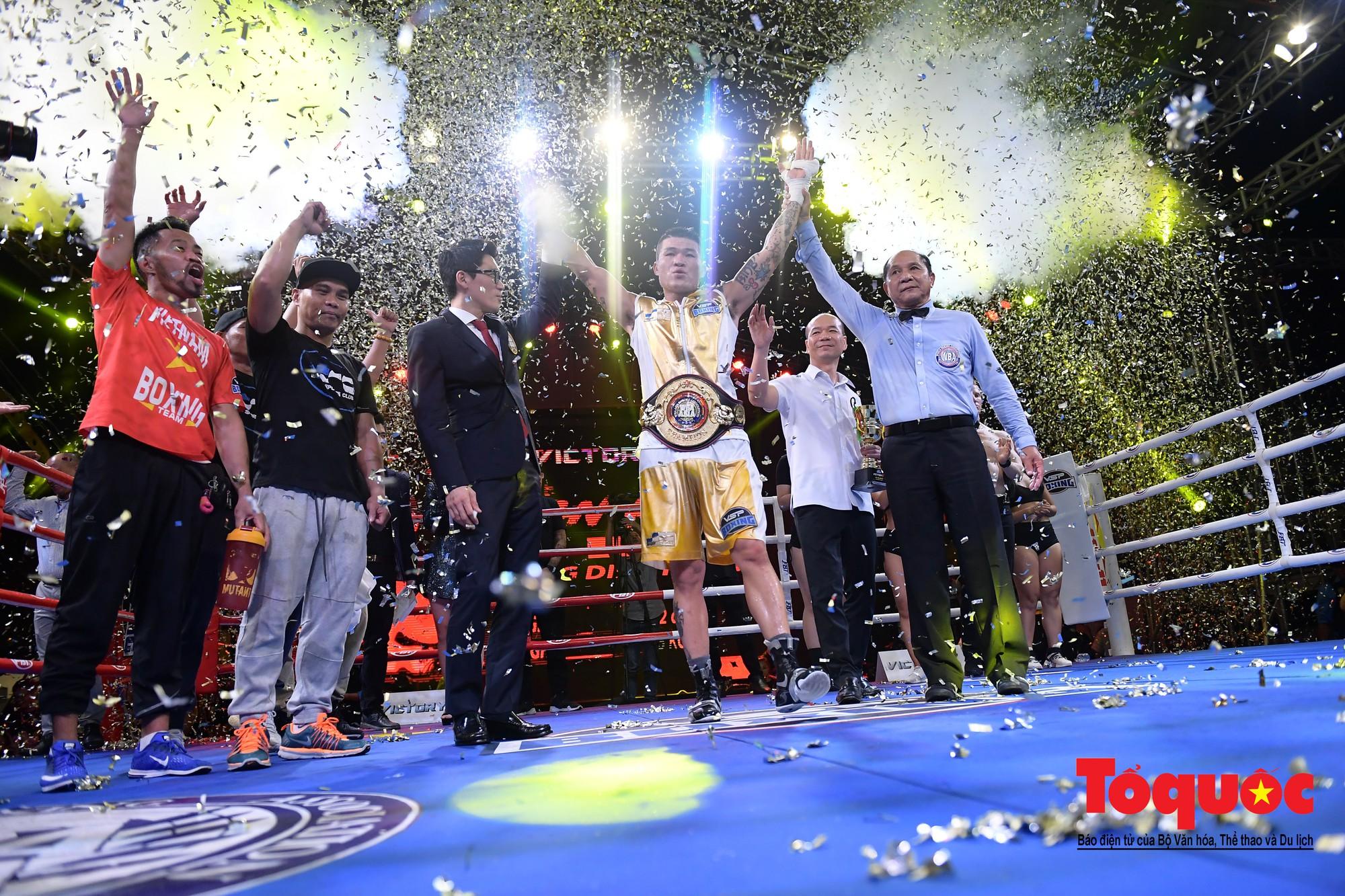 Trương Đình Hoàng giúp quyền Anh Việt Nam lần đầu giành đai WBA Đông Á25