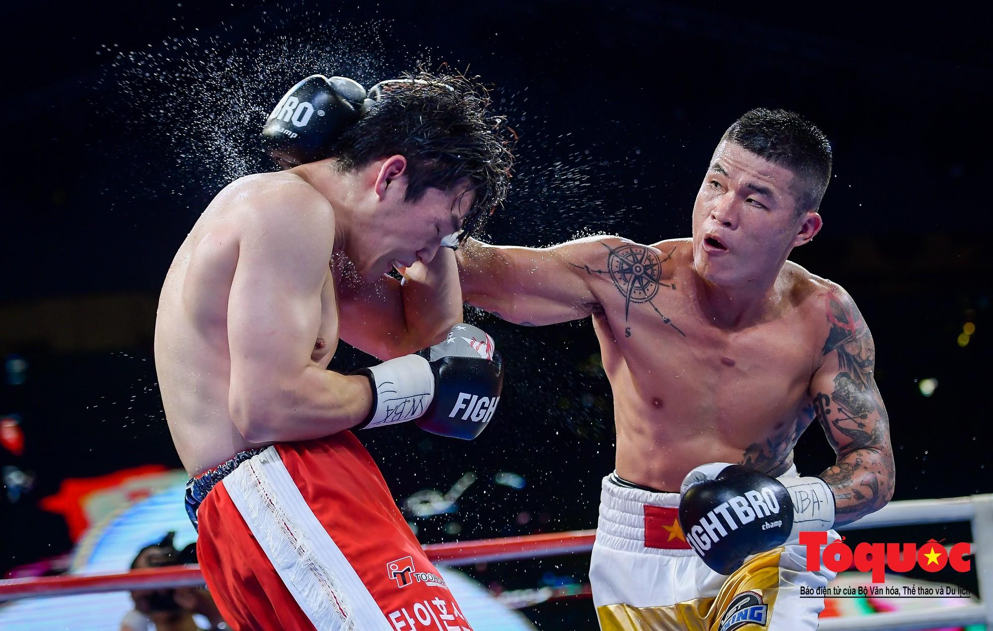 Trương Đình Hoàng giúp quyền Anh Việt Nam lần đầu giành đai WBA Đông Á5