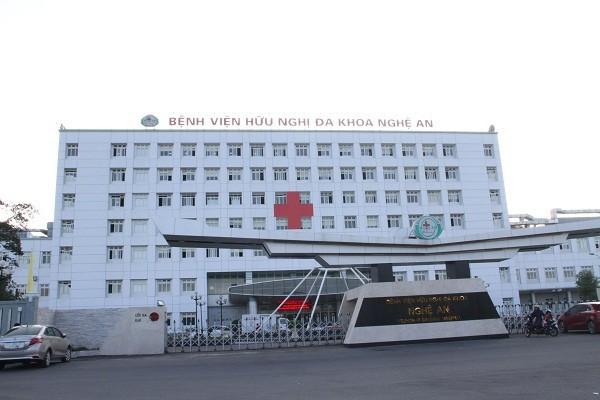 Bệnh viện hữu nghị Đa khoa Nghệ An1
