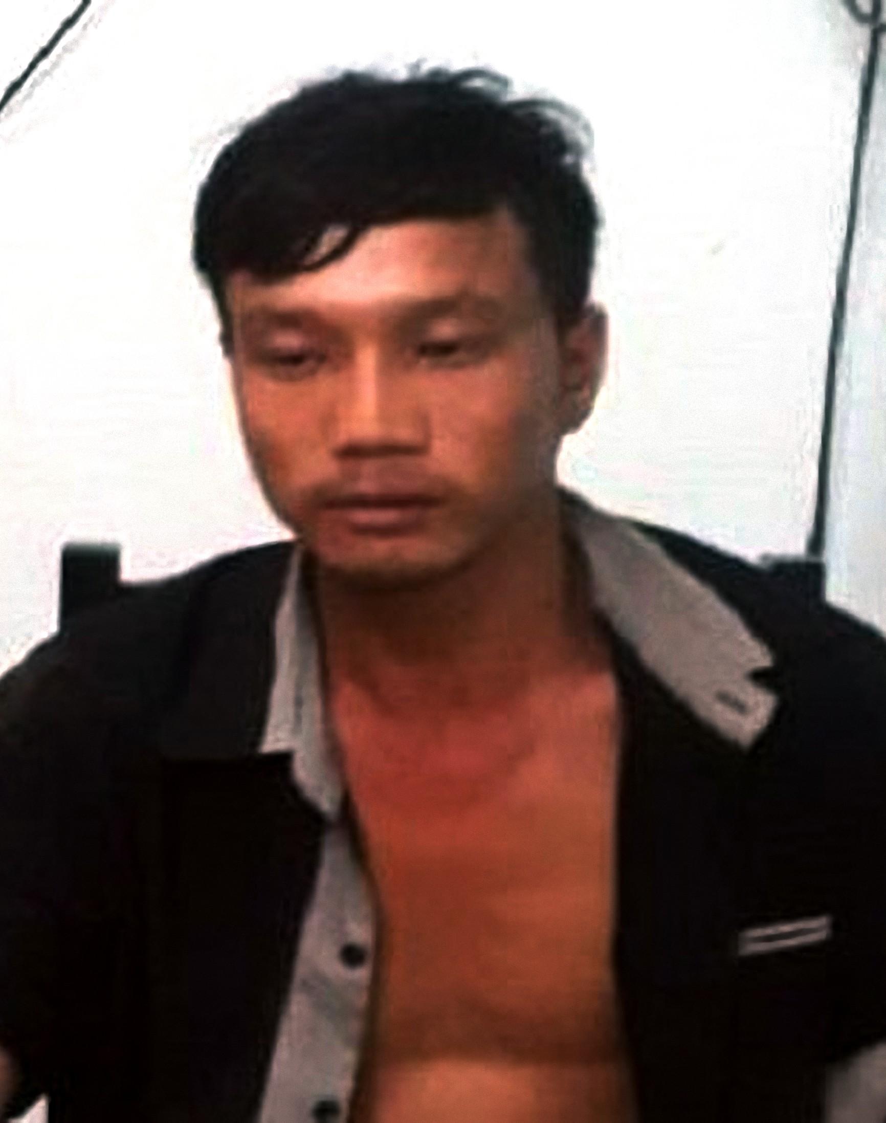 Ảnh Nguyễn Công Diện tại cơ quan điều tra