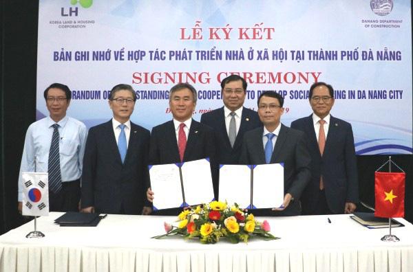 Đà Nẵng hợp tác phát triển nhà ở xã hội với doanh nghiệp Hàn Quốc - Ảnh 1.