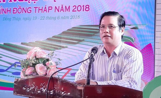 Phó giám đốc Sở Văn hóa, thể thao và du lịch Đồng Tháp bị khởi tố - Ảnh 1.