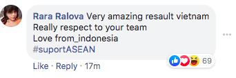"""Fan quốc tế """"náo loạn"""" facebook Liên đoàn bóng châu Á vì chúc mừng tuyển Việt Nam - Ảnh 5."""