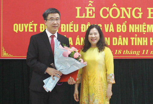 Đồng chí Chu Thành Quang được bổ nhiệm giữ chức Chánh án Tòa án nhân dân tỉnh Hà Giang  - Ảnh 1.