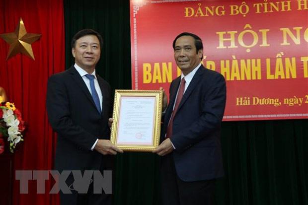 Quyết định của Ban Bí thư về công tác cán bộ tỉnh Hải Dương - Ảnh 1.