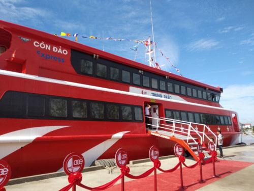Tàu cao tốc Cần Thơ - Côn Đảo sẽ đón khách vào đầu tháng 12 - Ảnh 1.