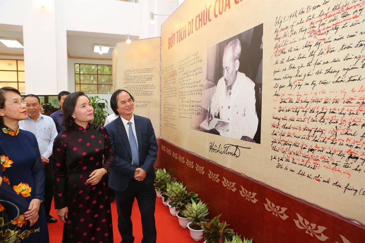50 năm thực hiện Di chúc Chủ tịch Hồ Chí Minh: Giữ gìn đoàn kết thống nhất trong Đảng - Ảnh 2.