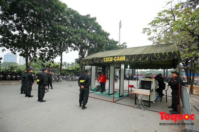 Tăng cường tối đa các phương án an ninh cho hai trận đấu của ĐT Việt Nam - Ảnh 1.