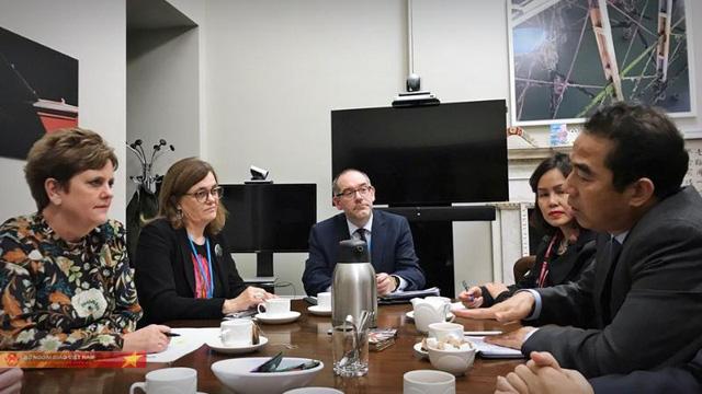 Thứ trưởng Bộ Ngoại giao Bùi Thanh Sơn: Việt Nam - Anh đang bàn kế hoạch đưa thi thể các nạn nhân về nước - Ảnh 1.