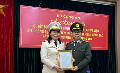 Bộ trưởng Công an bổ nhiệm nhân sự mới cấp Cục - Ảnh 1.