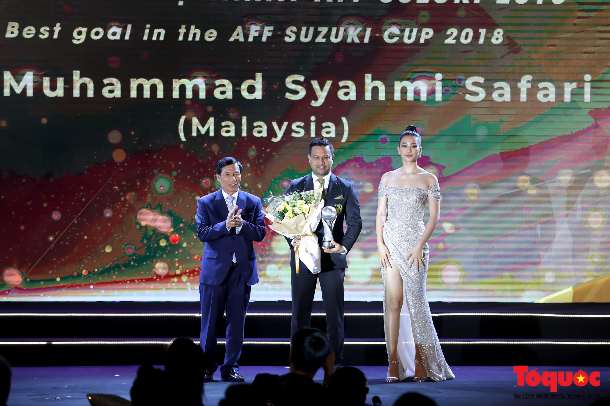 Toàn cảnh đêm vinh danh bóng đá Đông Nam Á- AFF Awards 2019 - Ảnh 14.