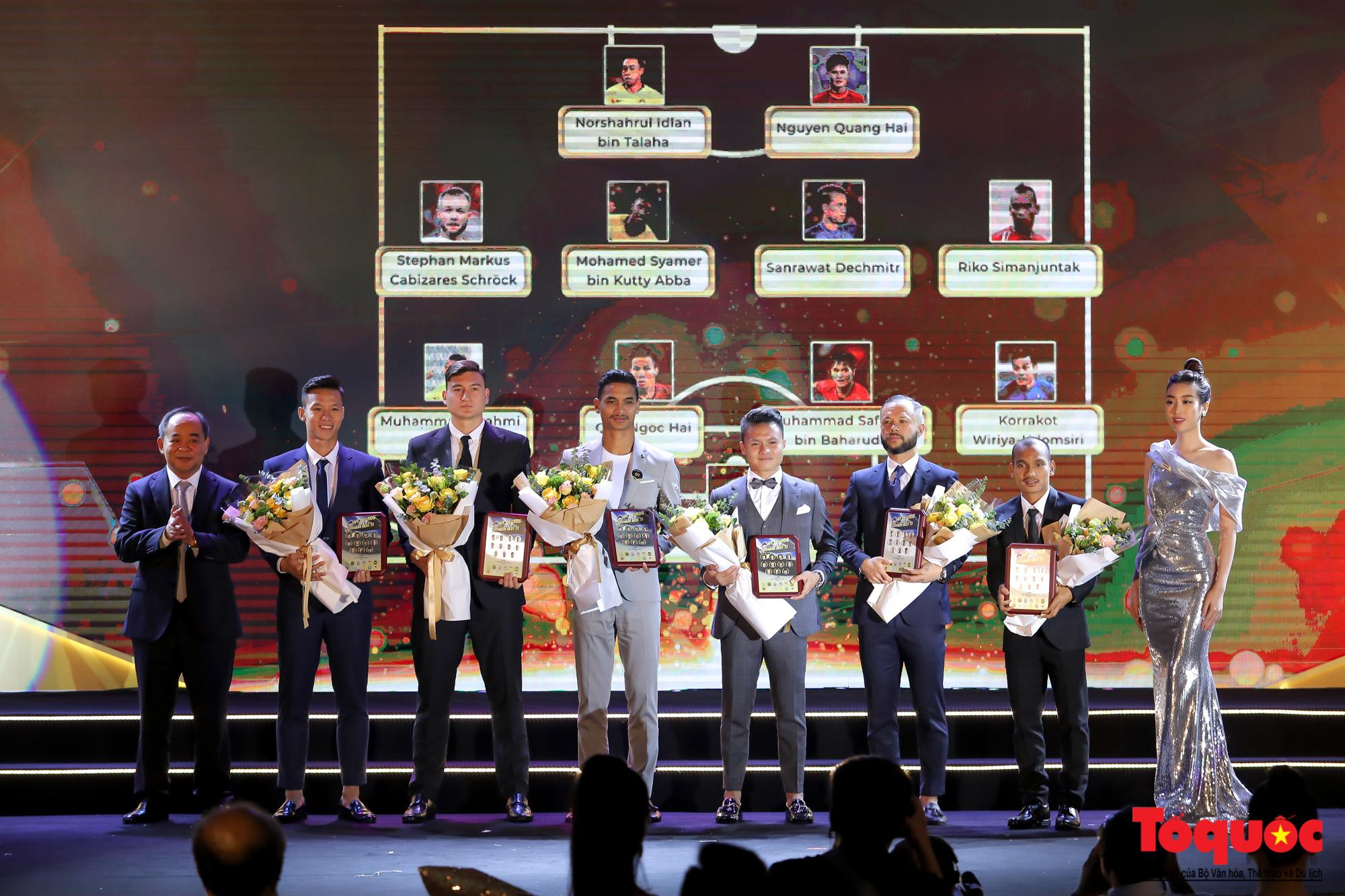 Toàn cảnh đêm vinh danh bóng đá Đông Nam Á- AFF Awards 2019 - Ảnh 12.