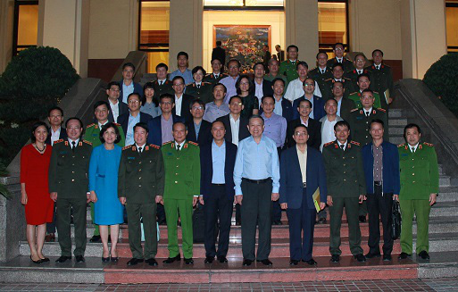 Bộ Công an gặp mặt các Trưởng Cơ quan đại diện ngoại giao Việt Nam ở nước ngoài - Ảnh 2.