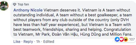 """Người hâm mộ quốc tế tôn vinh Việt Nam là """"vua bóng đá ASEAN"""" - Ảnh 5."""
