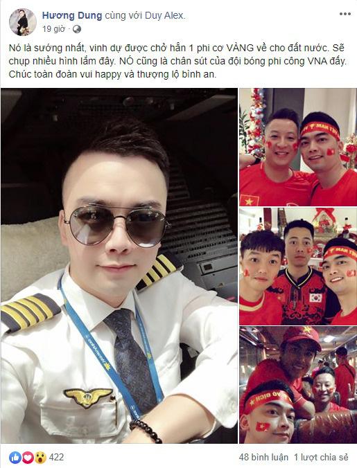 Bất ngờ cơ trưởng lái chiếc máy bay chở toàn đội tuyển quốc gia từ Philippines về nước - Ảnh 1.