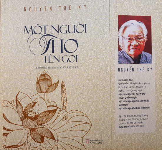 Ra mắt tập thơ về cuộc đời Chủ tịch Hồ Chí Minh - Ảnh 1.