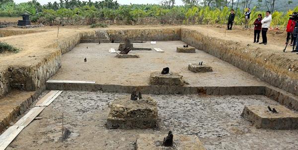 Báo cáo kết quả khai quật di tích bãi cọc Cao Quỳ, Hải Phòng - Ảnh 1.