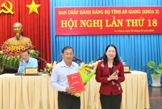 Ban Bí thư quyết định nhân sự tại Thanh Hóa, An Giang - Ảnh 2.