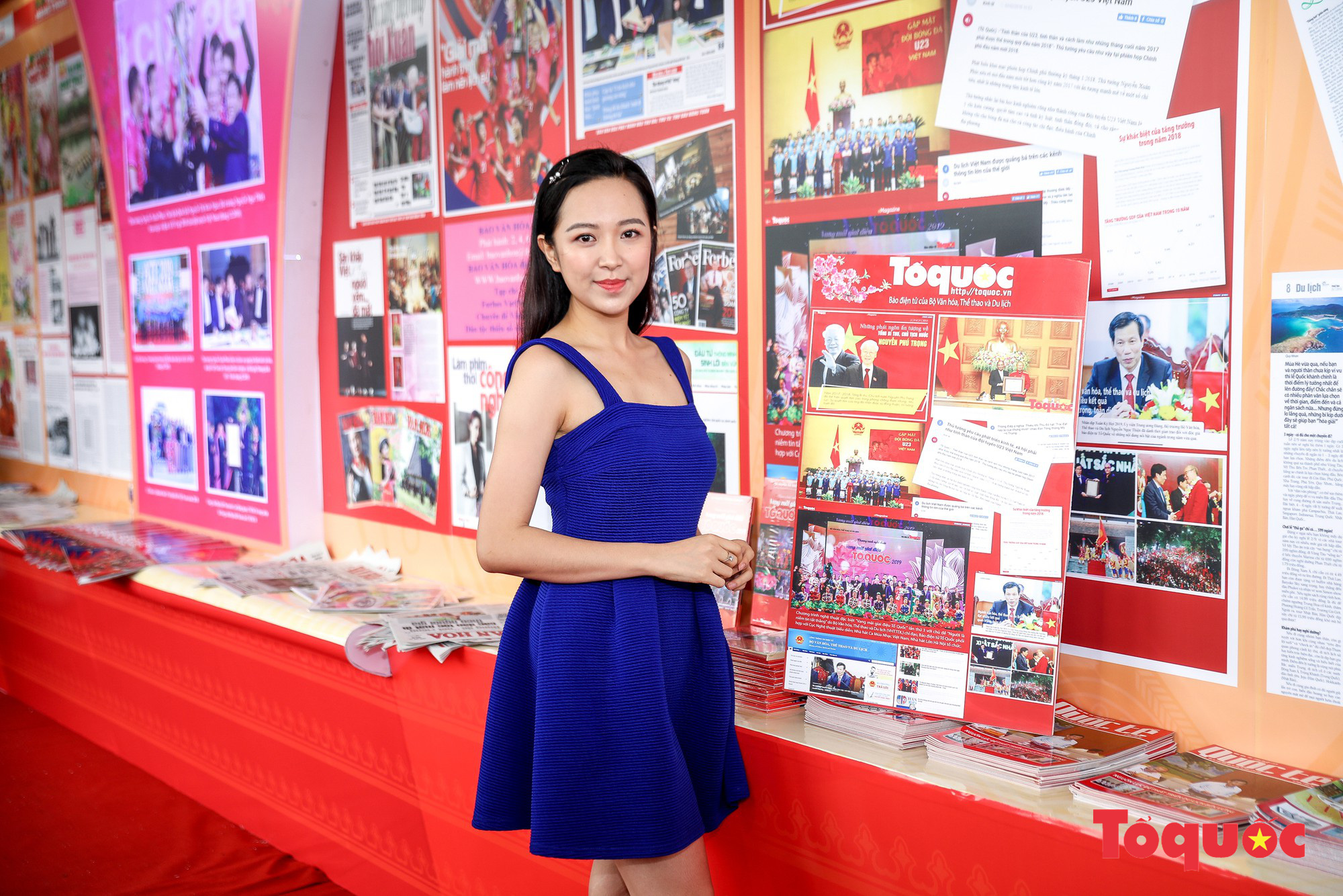 Ngắm nhìn Những cô gái trong thành phố nổi bật giữa Hội báo toàn quốc 2019 - Ảnh 6.