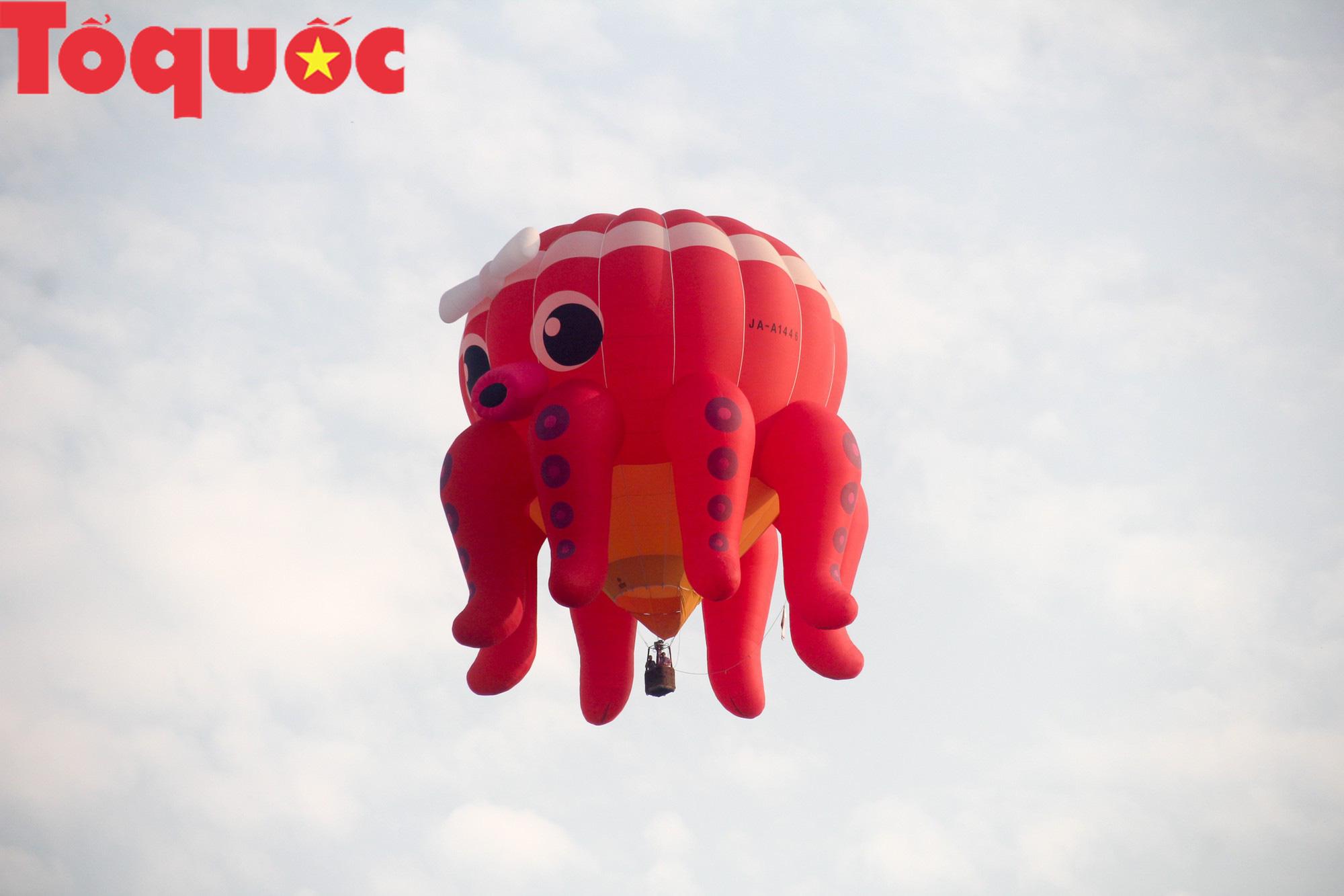 Du khách thích thú ngắm những quả bóng bay khổng lồ trên bầu trời Cố đô Huế - Ảnh 3.
