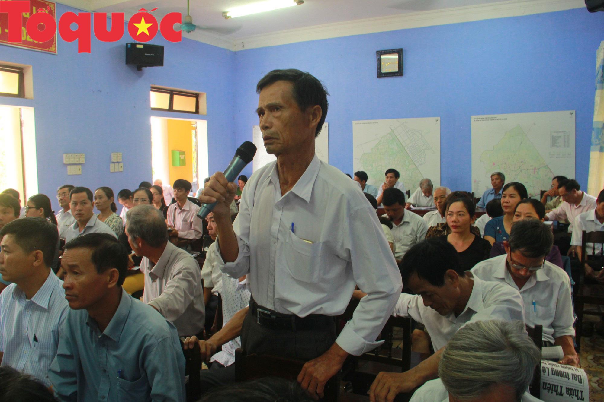 Bộ trưởng Nguyễn Ngọc Thiện tiếp xúc cử tri Thừa Thiên Huế - Ảnh 3.