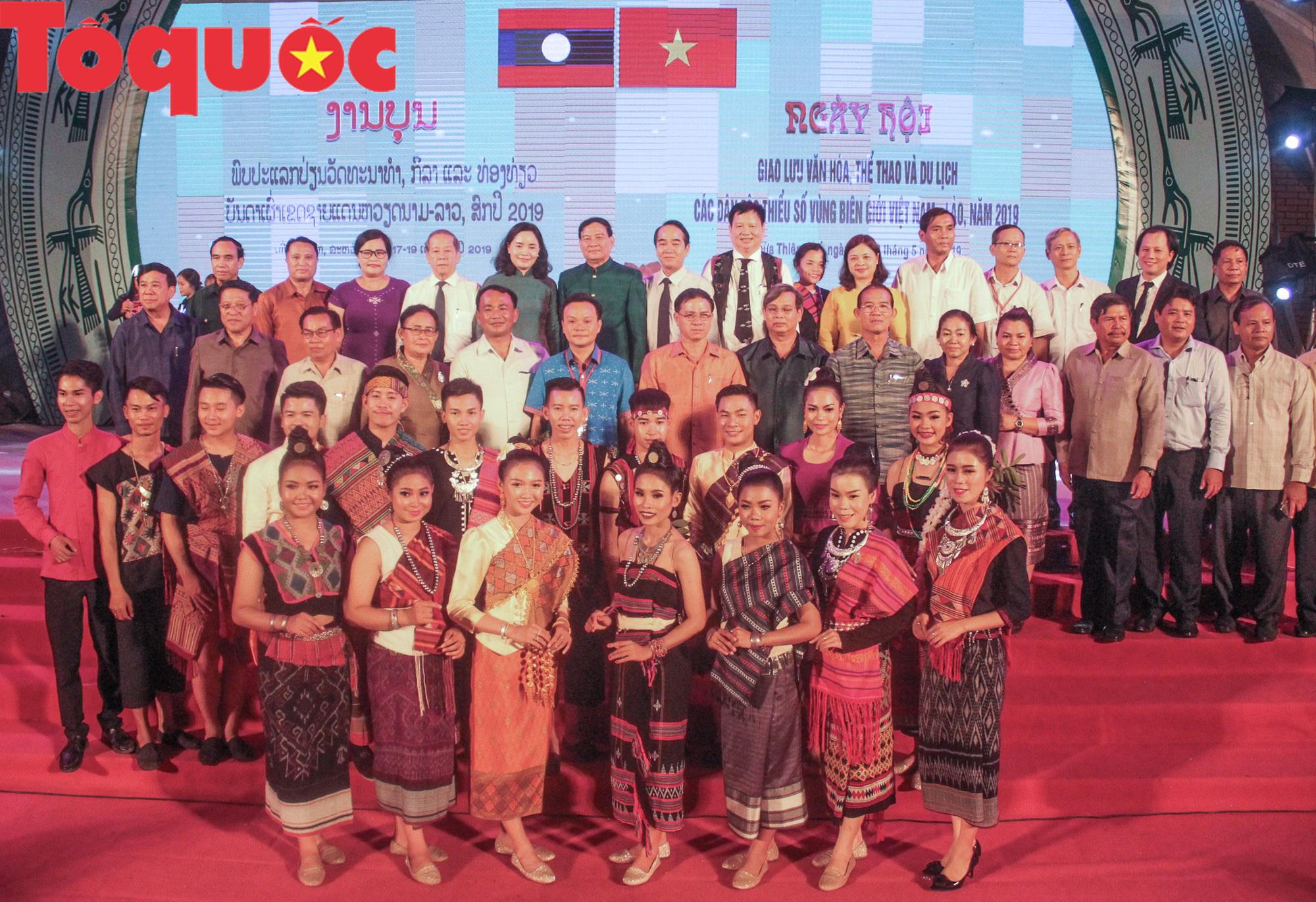 Khai mạc Ngày hội giao lưu văn hóa, thể thao, du lịch các dân tộc biên giới Việt Nam - Lào - Ảnh 3.