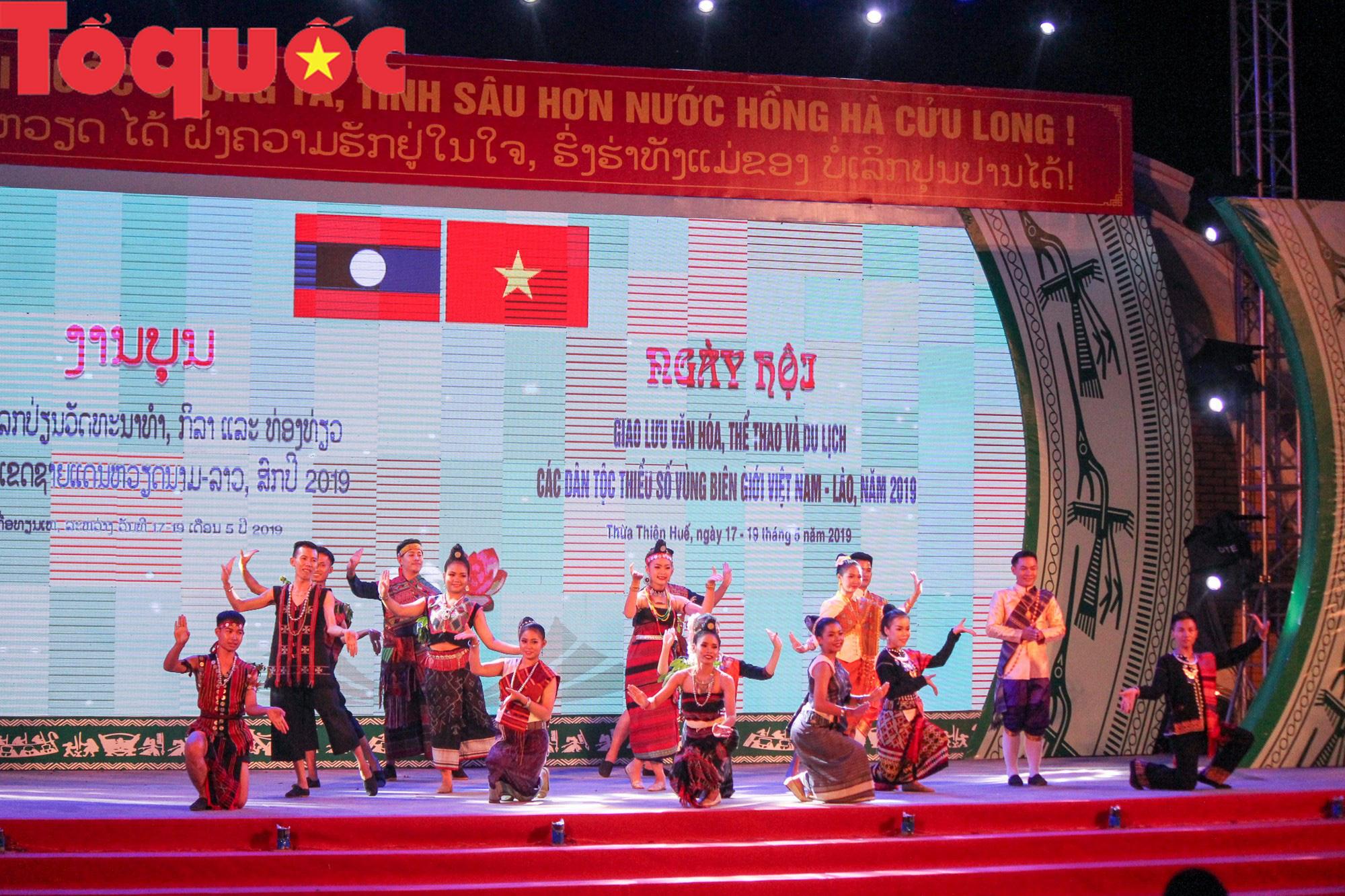Khai mạc Ngày hội giao lưu văn hóa, thể thao, du lịch các dân tộc biên giới Việt Nam - Lào - Ảnh 4.