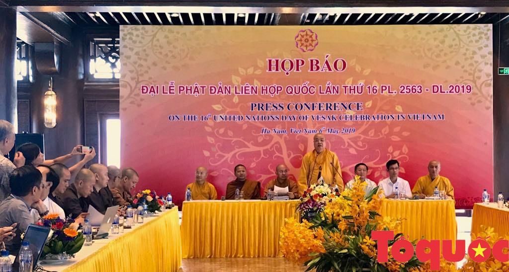 Đại lễ Phật đản Liên Hợp Quốc Vesak 2019: Tôn vinh giá trị nhân văn, hòa bình cho nhân loại   - Ảnh 1.