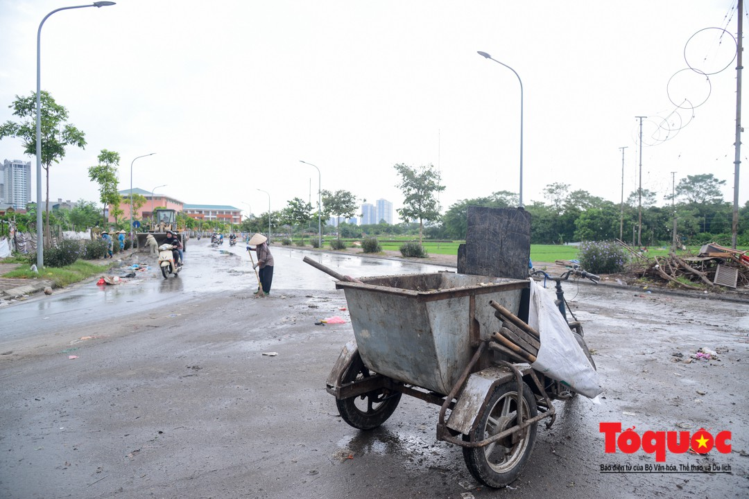 Sau phản ảnh của báo điện tử Tổ Quốc, bãi rác Tân Triều đã được dọn sạch sẽ1