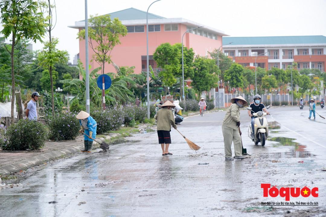 Sau phản ảnh của báo điện tử Tổ Quốc, bãi rác Tân Triều đã được dọn sạch sẽ2