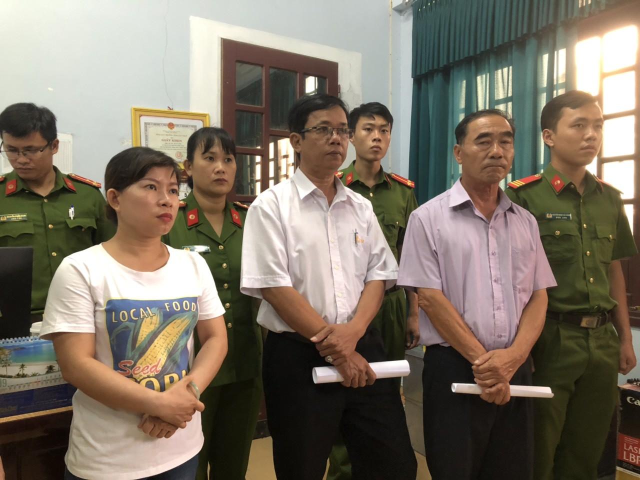 CQĐT CATP Huế  thi hành lệnh bắt 3 bị can Phú