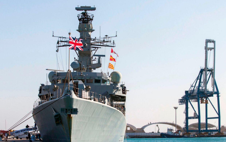 HMS Montrose AFP