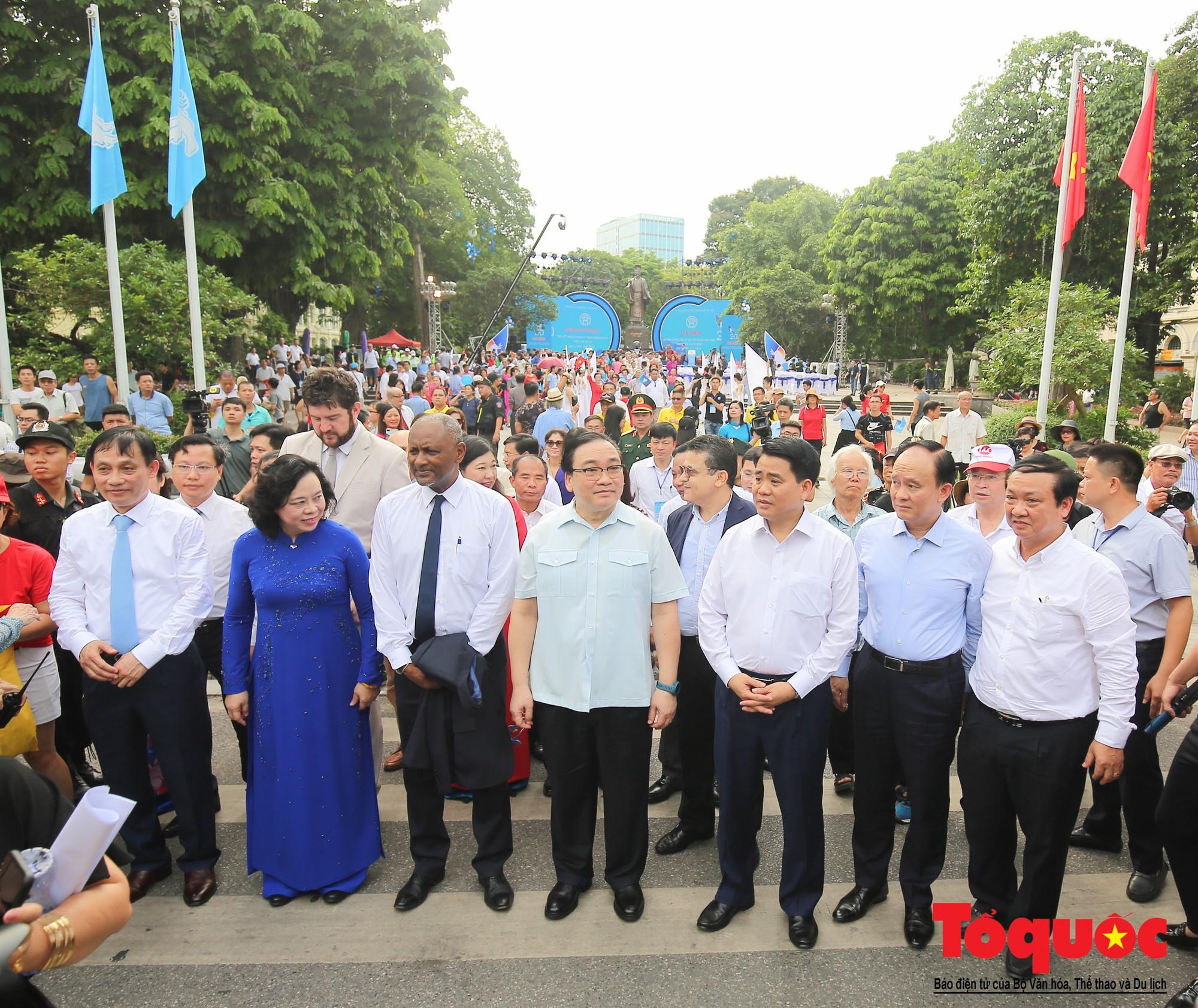 """Lễ kỷ niệm 20 năm thành phố Hà Nội đón nhận danh hiệu """"Thành phố Vì hòa bình"""" (5)"""