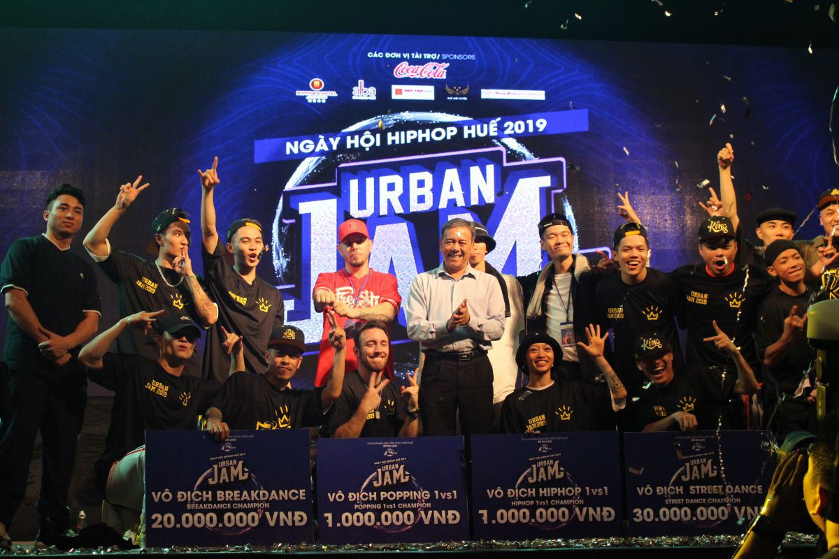 huetourism_be mac Ngay hoi hiphop Urban JAM 2019 1