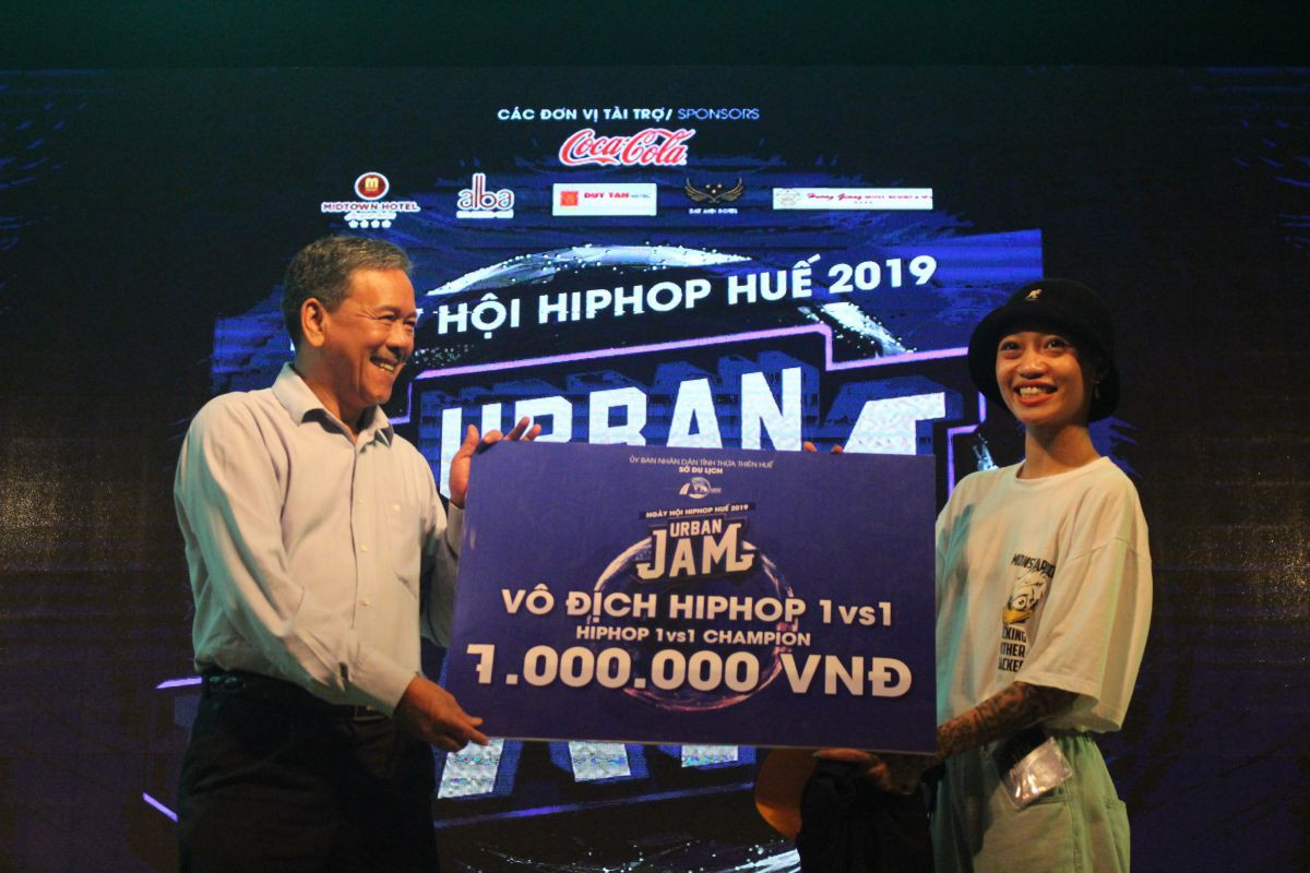 huetourism_be mac Ngay hoi hiphop Urban JAM 2019 3