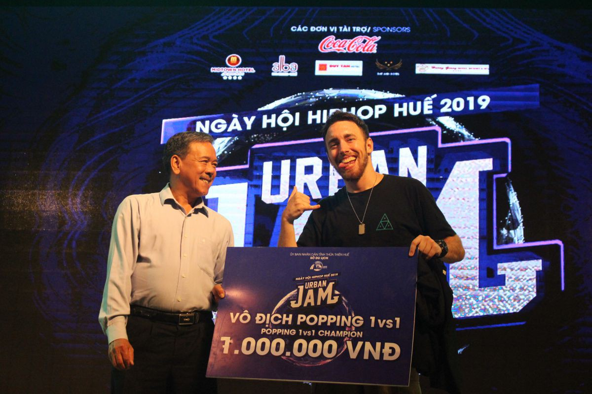 huetourism_be mac Ngay hoi hiphop Urban JAM 2019 4