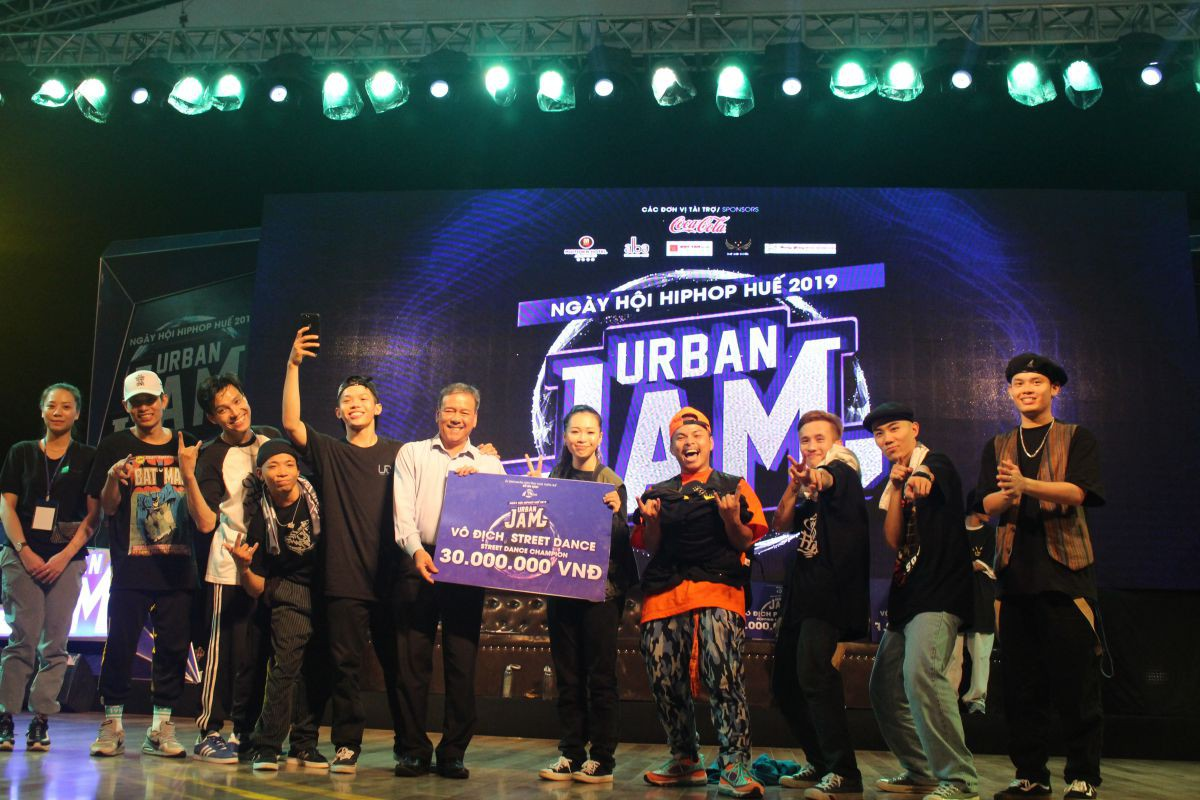 huetourism_be mac Ngay hoi hiphop Urban JAM 2019 5