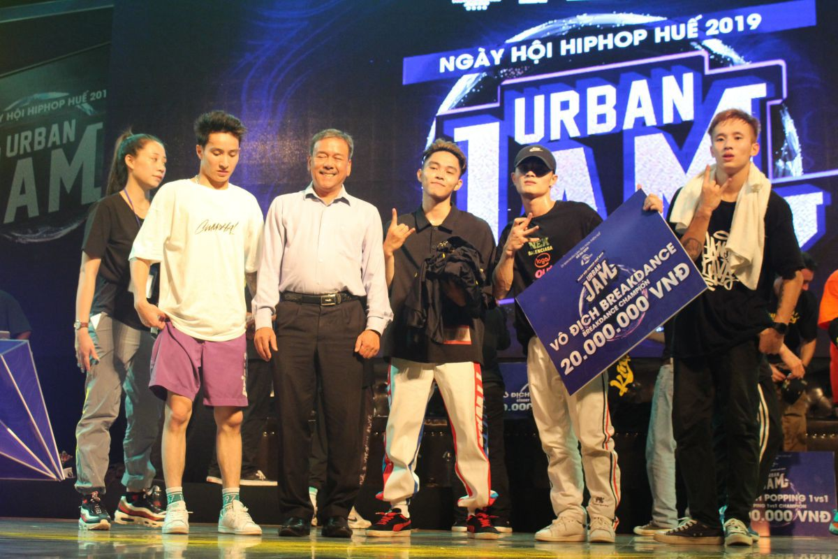 huetourism_be mac Ngay hoi hiphop Urban JAM 2019 6