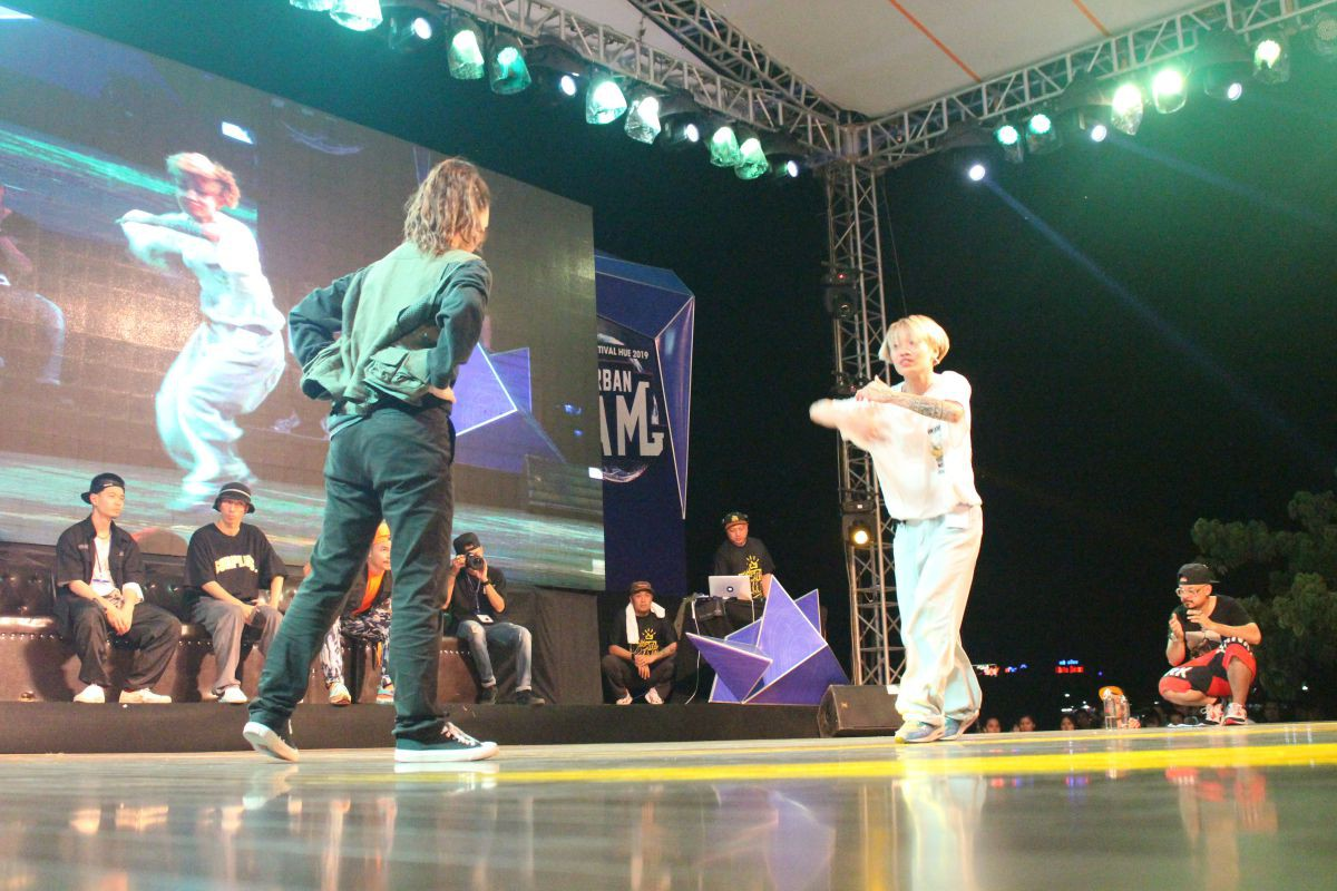 huetourism_be mac Ngay hoi hiphop Urban JAM 2019 7