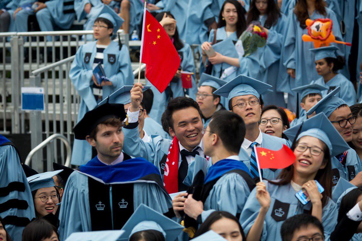 Sinh viên TQ tại Mỹ