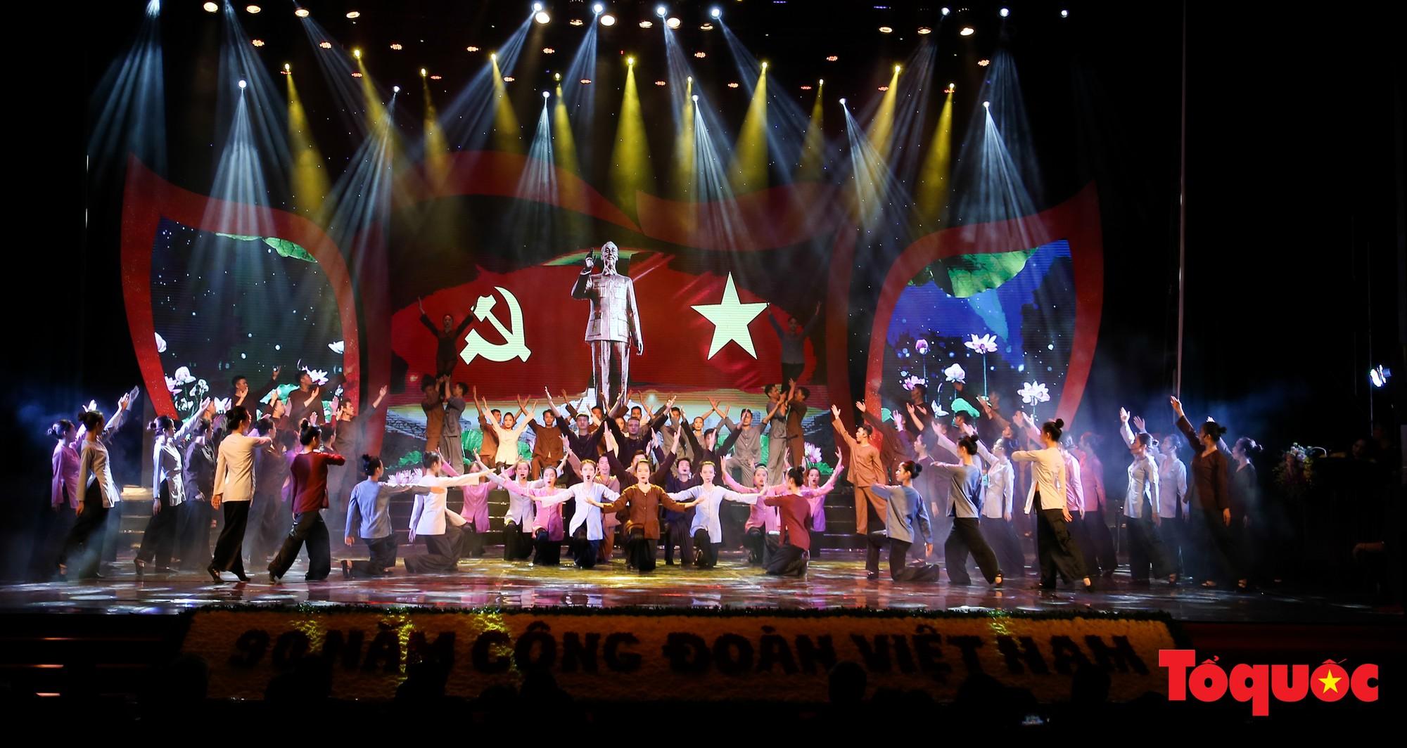 Long trọng Lễ kỷ niệm 90 năm Ngày thành lập Công đoàn Việt Nam (3)